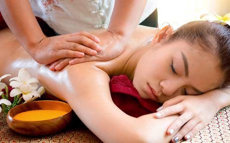 Hýčkající balíček s masáží i obličeje a zábalem dle výběru