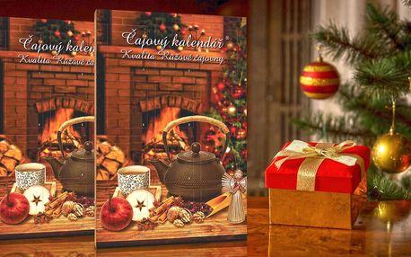 Dva adventní kalendáře s celkem 48 porcovanými čaji