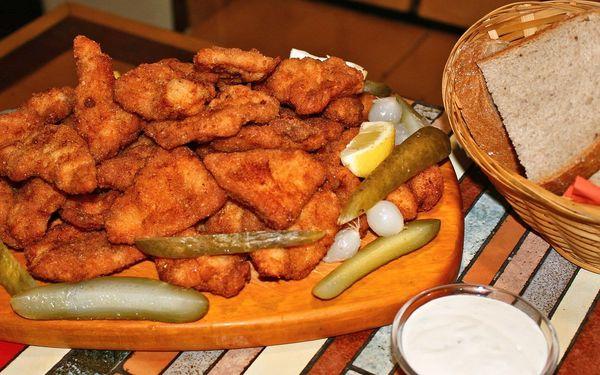 Fošna kuřecích řízků s chlebem až pro 6 osob