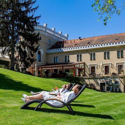 Romantika v Chateau St. Havel: jídlo i wellness