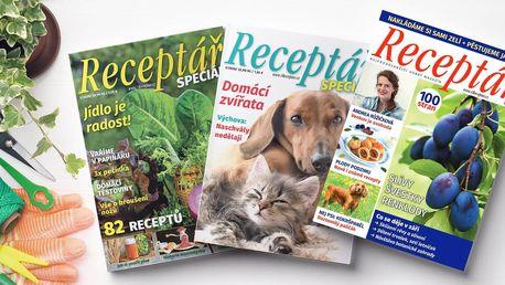 Roční předplatné časopisu Receptář s dárky