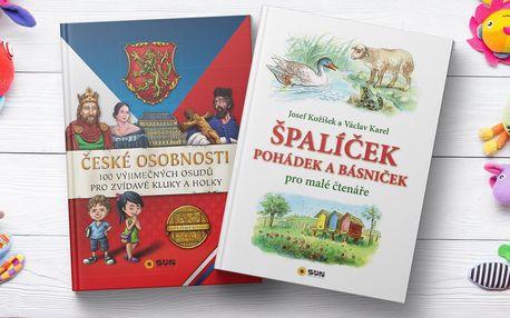 Knihy pro zvídavé děti i klasické české pohádky
