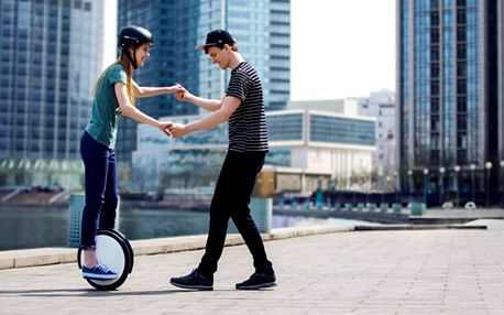 Lekce jízdy na elektrické jednokolce na hodinu