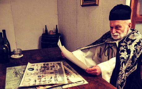 Klatba zednářova: úniková hra na zámku Lednice