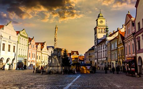 Pobyt v Třeboni se snídaněmi, večeří a wellness