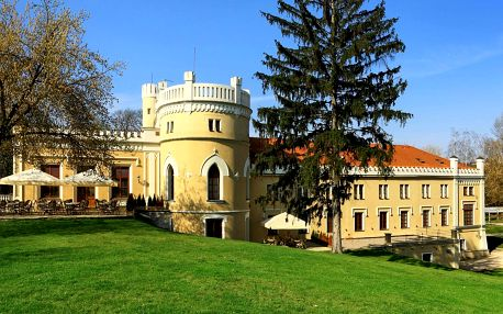 Romantika v Chateau St. Havel: jídlo i wellness
