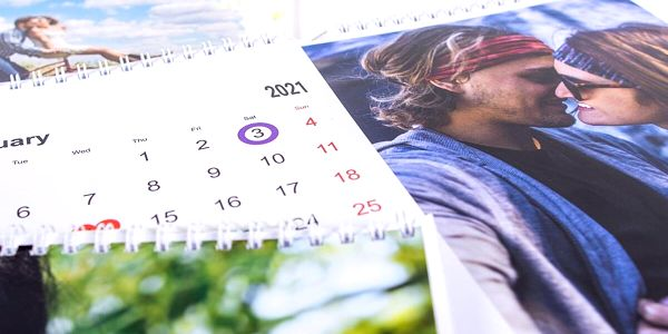 Stolní fotokalendář A55