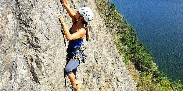 Jednodenní kurz sportovního lezení