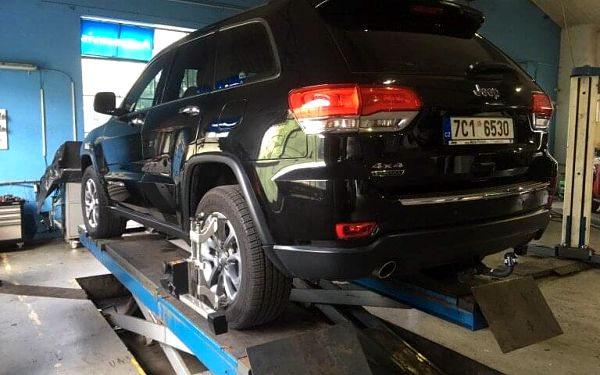 Kompletní seřízení vozu pro bezpečnou jízdu5