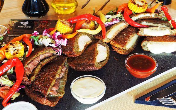 Kavkazské bramborákové prkno pro 2–6 osob