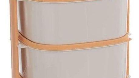 Orion Plastový jídlonosič Almi 2 l + 3 x 1,15 l