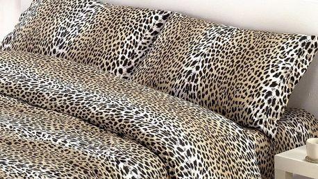 Gipetex Natural Dream Italské povlečení bavlna LUX Maculato