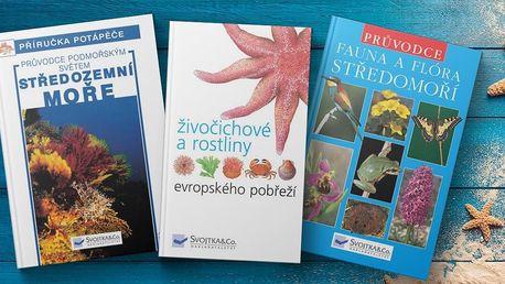 Knihy s mořskou tematikou z nakladatelství Svojtka