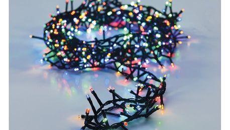 Světelný vánoční řetěz Twinkle barevná, 700 LED