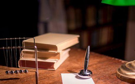 Profesorova pracovna: únikovka, kterou nezapomenete