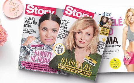 Roční předplatné časopisu Story s dárkem