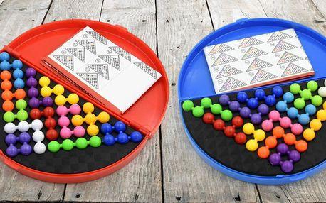 Logická skládací hra Pyramida pro děti i dospělé