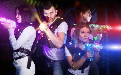 Akční laser game v nejmodernější 3D aréně 1-4 osoby