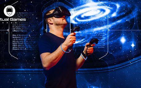 Virtuální realita až pro 6 osob vč. Kat VR Walk