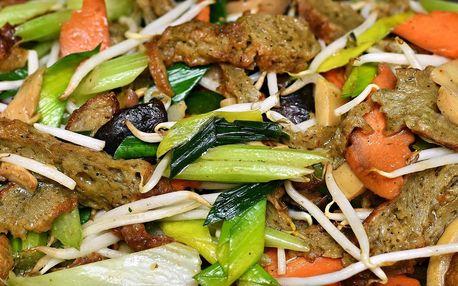 Kilo jídla dle výběru ve veganském bufetu