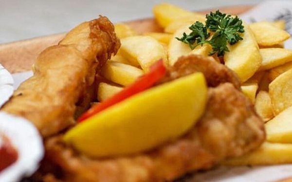 1× Fish & Chips a nápoj2