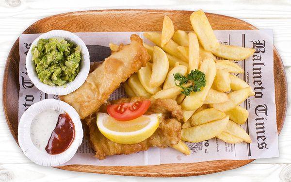 1× Fish & Chips a nápoj5
