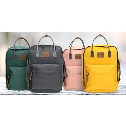 Elegantní unisex batoh z odolného nylonu: 7 barev