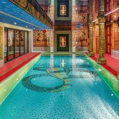 Antické lázně s privátní saunou a párou pro 2 os.