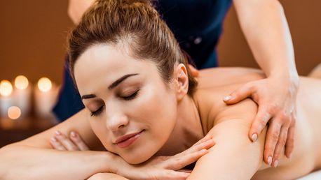 Masáž končetin, zad a šíje či masáž vč. baňkování