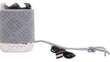 Reproduktor Portable KL3528 stříbrný