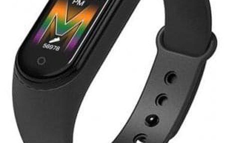 Smart náramek M5 černý