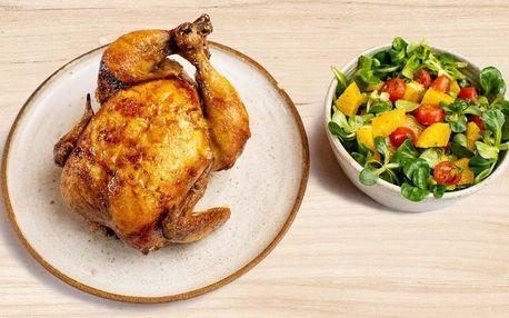 Combo menu: kuře se salátem přímo na Náplavce