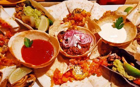 Mexické menu pro 2: polévka, hlavní jídlo i dezert