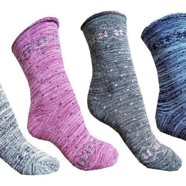 6 párů dámských ponožek   Velikost: 39-424