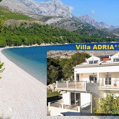 Chorvatsko levně Makarská Živogošče Villa ADRIA, doprava AUTOBU..., Živogošće
