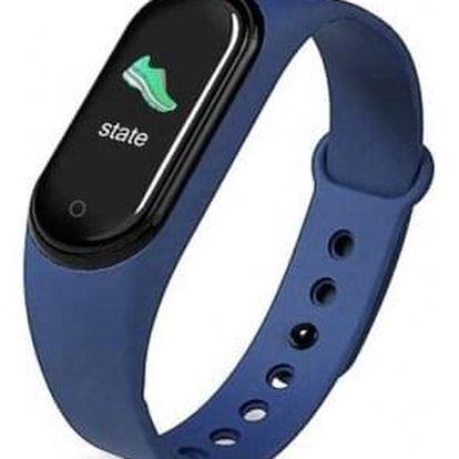 Smart náramek M5 modrý