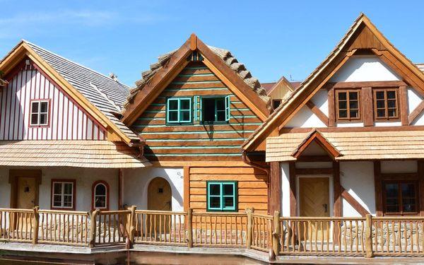 Nové pohádkové apartmány s polopenzí v Podlesí
