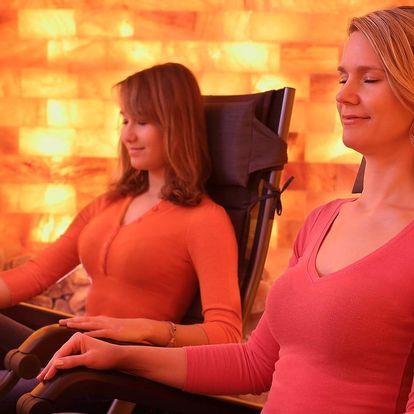 Relaxační pobyt v solné jeskyni s vedenou meditací