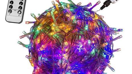 VOLTRONIC® 62884 Vánoční řetěz - 600 LED, barevný + ovladač