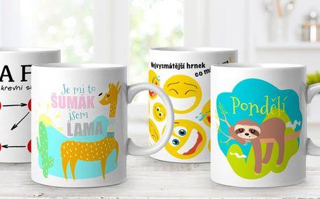 Vtipné hrnky pro milovníky kávy i čaje