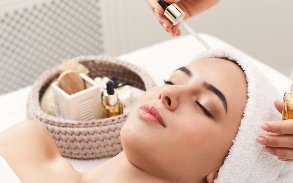 Kosmetické ošetření s aroma masáží obličeje