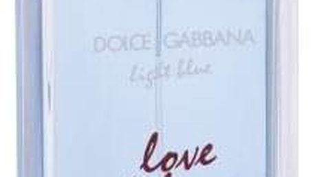 Dolce&Gabbana Light Blue Love Is Love 100 ml toaletní voda pro ženy