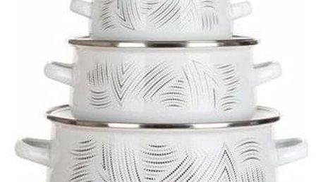 Banquet Sada smaltovaného nádobí CHARME, 6 ks