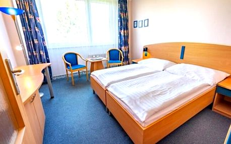 Luhačovice: Relaxační pobyt v Hotelu Harmonie *** s lázeňskými procedurami, fitness a polopenzí + káva