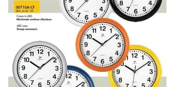 Lowell 00710B Nástěnné hodiny pr. 25 cm2