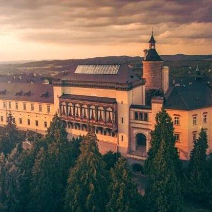 Křivoklátsko: Romantika na zámku Chateau Hotel Zbiroh s unikátním wellness a snídaní ve středověké krčmě
