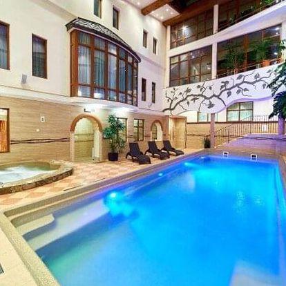 Polské Pieniny nedaleko termálů: Hotel Kinga **** s wellness a krytým bazénem neomezeně + polopenze