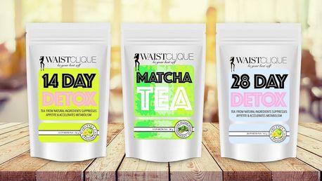 Očista s detoxikačními a hubnoucími čaji WaistTea™