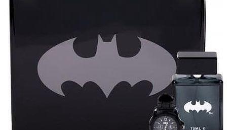 DC Comics Batman dárková kazeta pro děti toaletní voda 75 ml + hodinky