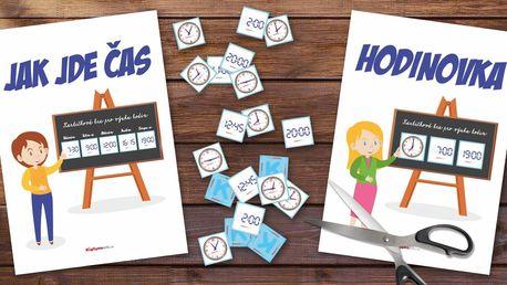 Vzdělávací hry od KidTown: Hodinovka a Jak jde čas